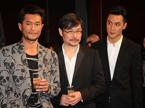 第38届香港国际电影节开幕 古天乐一天连跑五场发布会