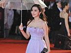 第十四届上海国际电影节浪漫开幕 三百位明星雨中争奇斗艳