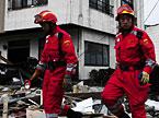 救援第四天:中国国际救援队在日受到赞扬