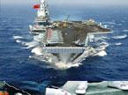 中国航母平台出海试航